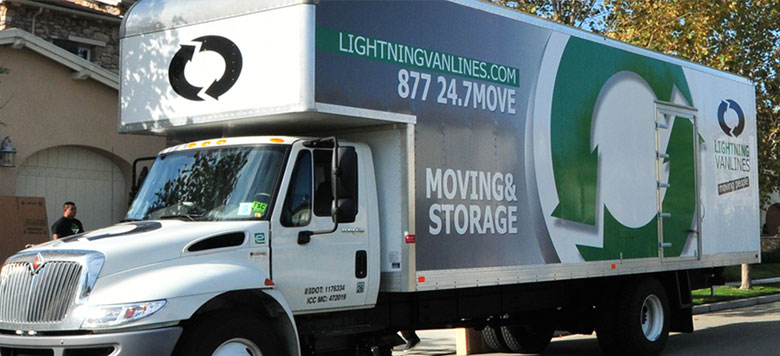 Lightning Van Lines Inc - San Leandro, California, Auto moving